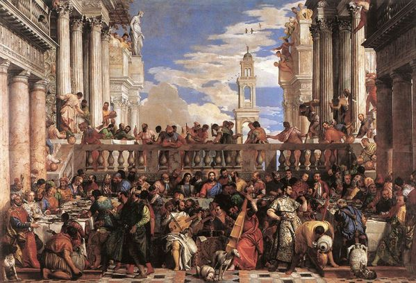 Veronese Les noces The Marriage at Cana