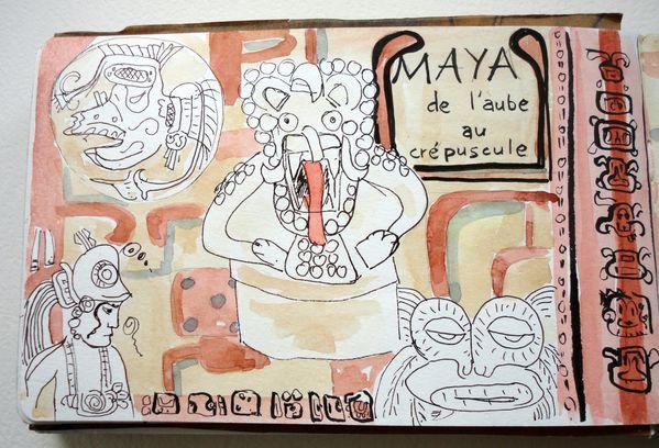 Les Mayas au Musée Branly