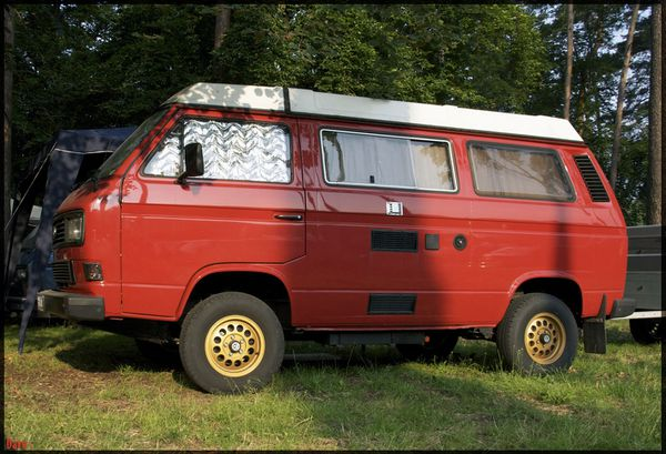 davw t3 westfalia red gold