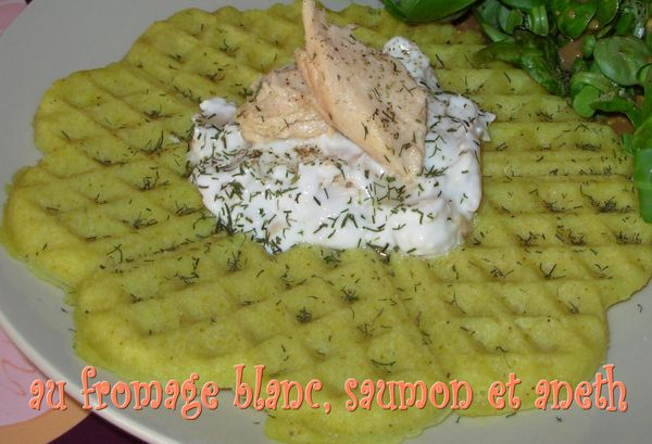 Gaufres amandes-curry au saumon3