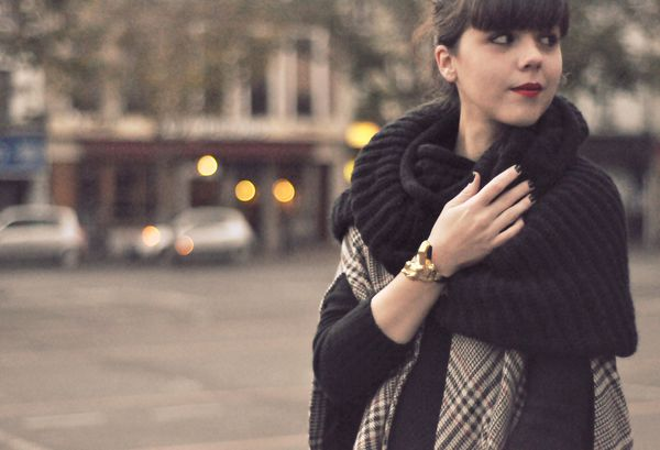 BLOG outfit hiver cape slim cuir (10)