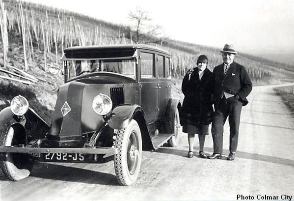 Auto des grands-parents 1928