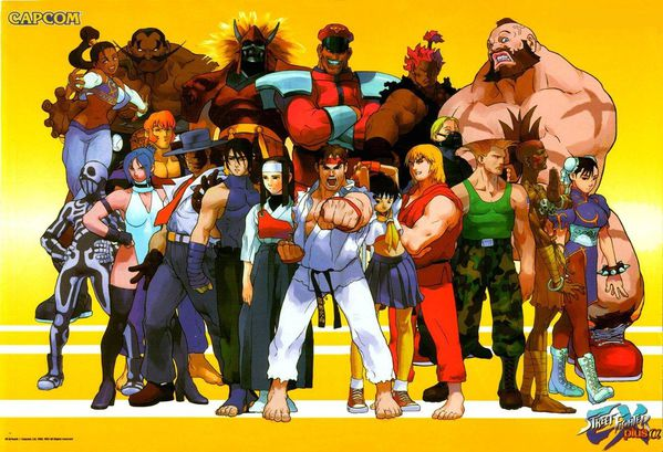 Street Fighter Ex Plus Alpha Poster