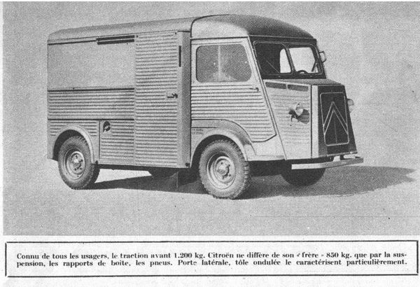 Citroen 1200 kg - l'Automobile n°113 Sept 1955 4