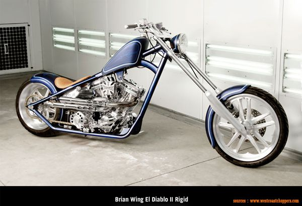 West Coast Choppers - Brian Wing El Diablo II Rigid