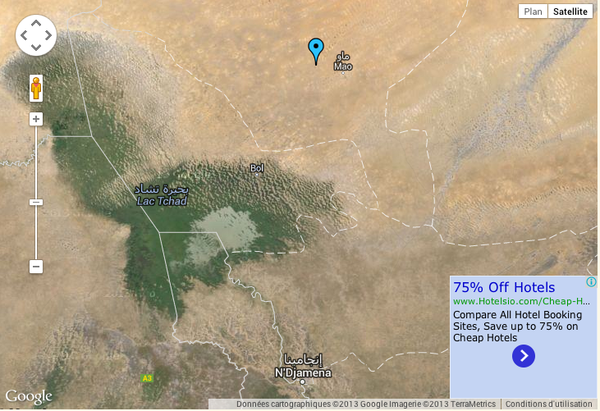 Mao - position satellite - Google Maps