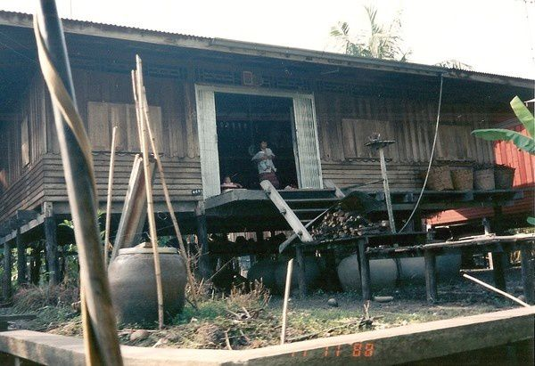Maison sur pilotis Thailande 1988 (5)