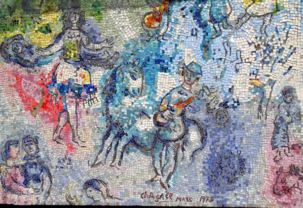 Chicago mosaïque Chagall