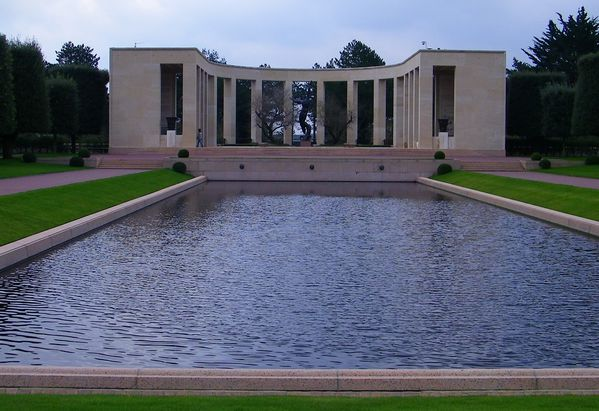 297 American Cemetery at Omaha Beach, Colleville-sur-Mer