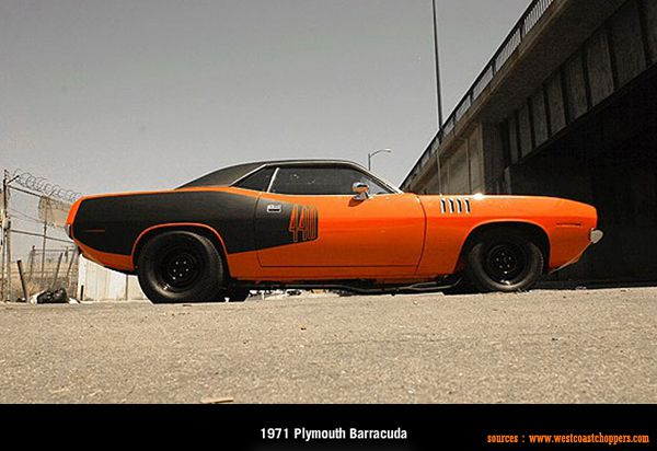 West Coast Choppers - 1971 Plymouth Barracuda