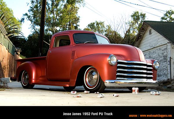 West Coast Choppers - Jesse James 1952 Ford PU Truck