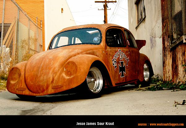 West Coast Choppers - Jesse James Sour Kraut