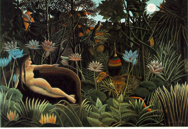 henri rousseau reve dream
