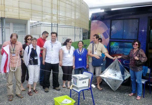 Rencontre Espace Education CNES 2012 - Ballon stratosphéri