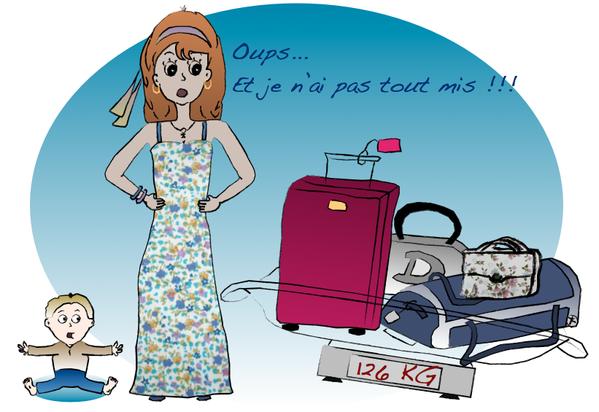 Assez Faire les valises - Mademoiselle Maman DQ15