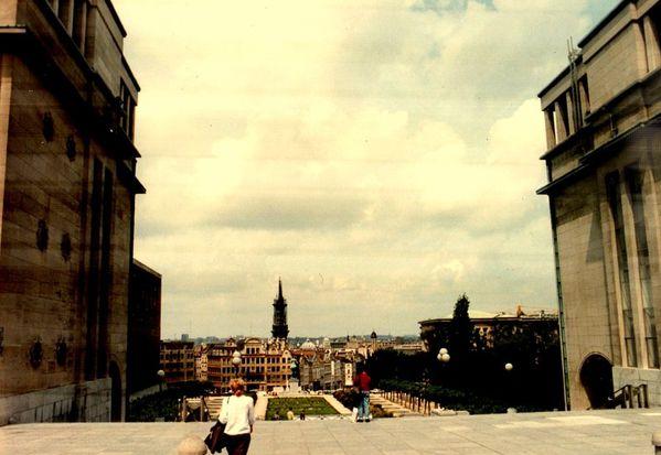Juin 1991 Bxl Mont des Arts386