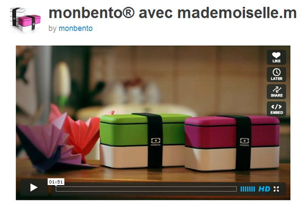 small vid&#xE9;o making off monbento