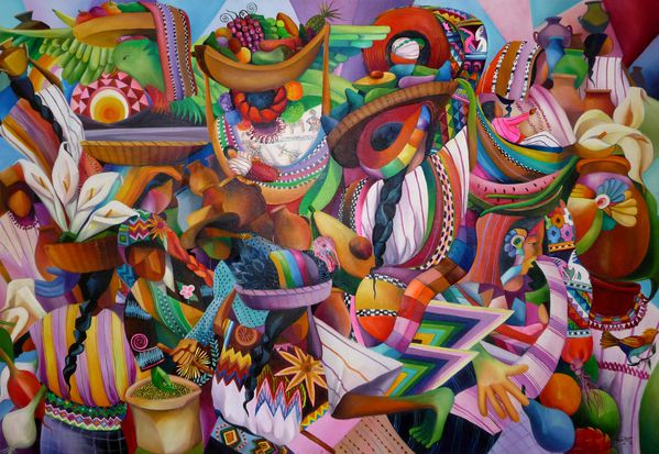 Teotihuacan resto tableau