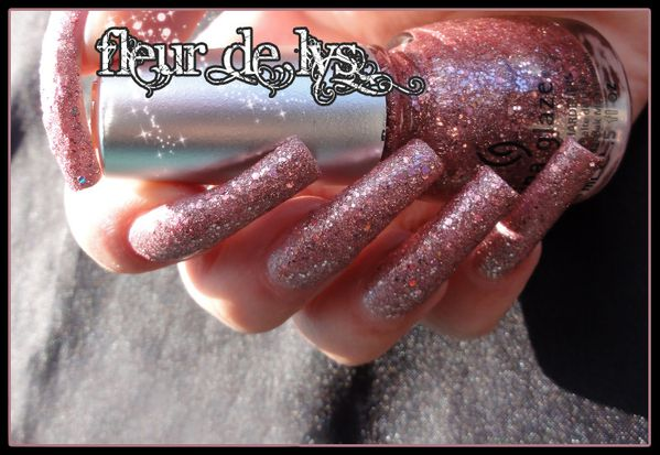 China Glaze Material Girl Eye Candy 3D