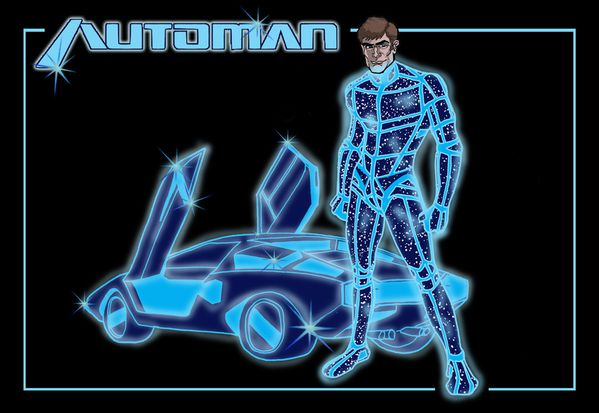 Automan by SkyDisaster