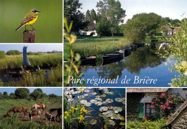 parc regional de briere-carte
