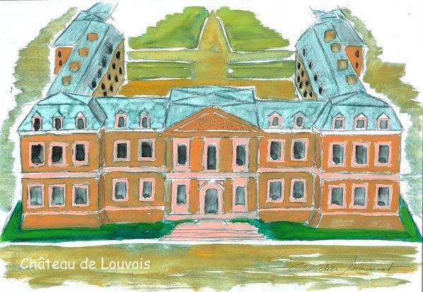 LOUVOIS, château de Michel LE TELLIER, ministre d-copie-1