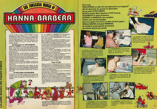 Hanna Barbera Tele Junior 1977