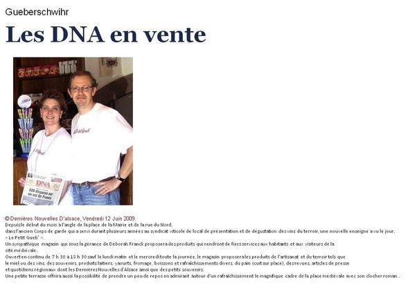 DNA+Journal+Alsace DNA Journal Alsace http://lepetitcoindedebbie.over ...