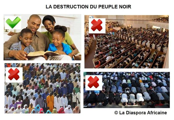 DESTRUCTION DU PEUPLE NOIR