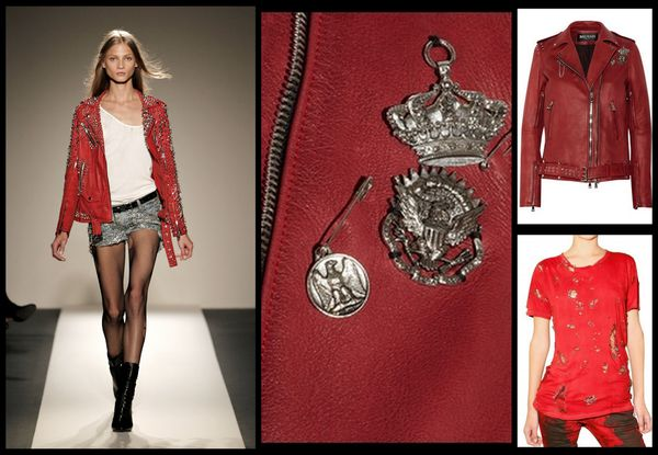 Balmain-T-shirt-rouge-epingles-perfecto-cuir-rouge-cloute.jpg