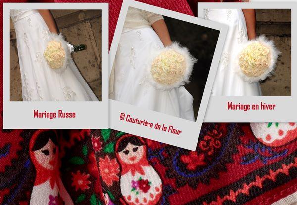 Joli bouquet - la mariee aux pieds nus