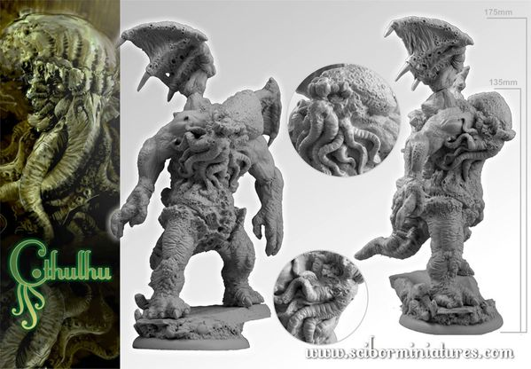 Cthulhu from Scibor Miniatures