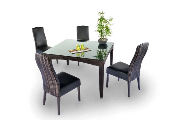 table fidji chaise alice meubles en rotin. Black Bedroom Furniture Sets. Home Design Ideas