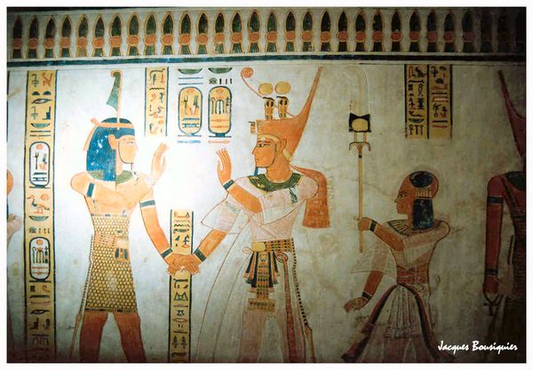 Egypte tombe vallee des nobles