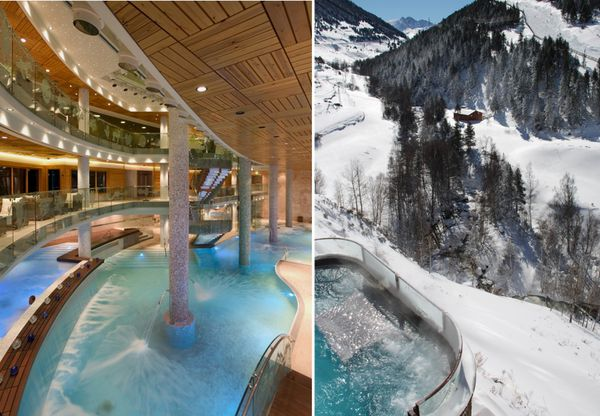 luxe spa géant hotel andorre sport hermitage & spa
