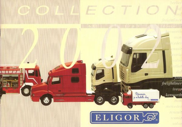 catalogue camions eligor annee 2002 couverture
