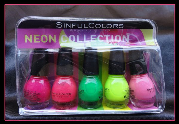 Sinful Colors Neon Collection2