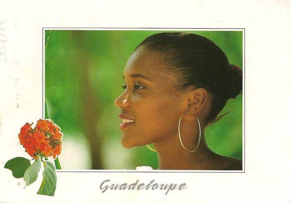 Cartes postales aaaa Jeune femme créole
