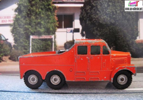 scammell 6x6 tractor matchbox king size lesney (2)