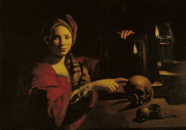Trophime Bigot, Vanitas - Allegory of Vanity - Allégorie d