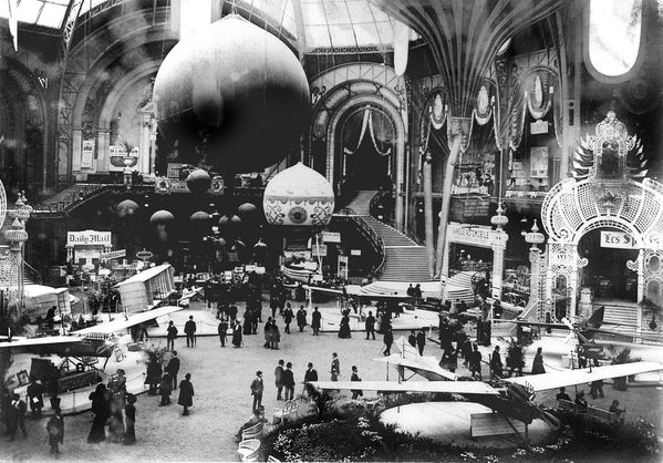 Grand palais expo de 1900 - Photo 100ans