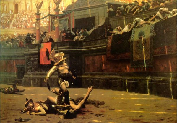 gladiateur gerome