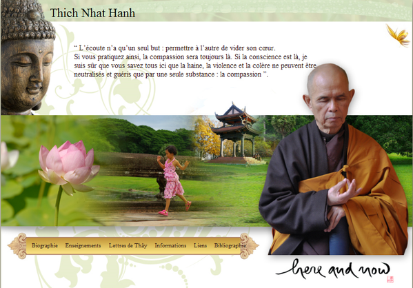 Site Thich Nhat Hanh