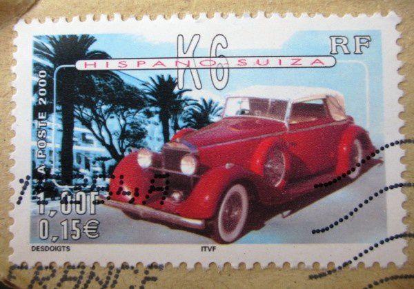 hispano-suiza-k6-timbre-france-2000