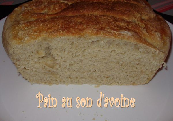 Pain au son d'avoine2