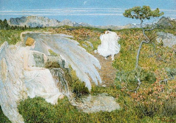 Giovanni Segantgini - Love at the Fountain of Life
