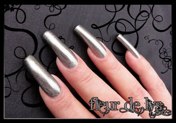 Vernis ongles anthracite