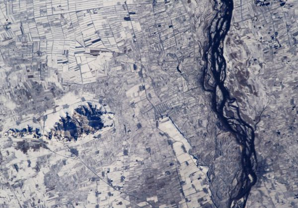 ISS - Chine - Songhua River - 18-11-2012 - ISS033-E-22759