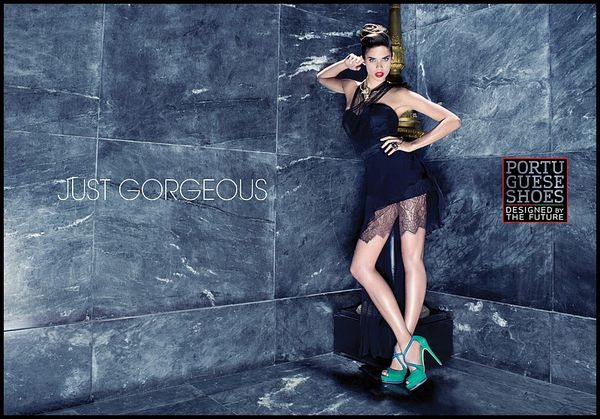 Portuguese shoes Campaign 2012 - Sara Sampaio