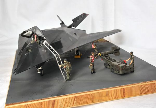 Lockheed F-117 Nighthawk a
